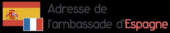 adresse ambassade espagne