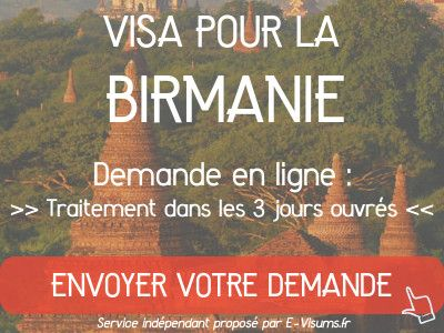 ambassade birmanie visa