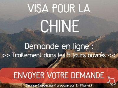 ambassade chine visa