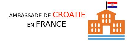 ambassade croatie