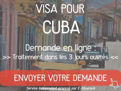 ambassade cuba visa