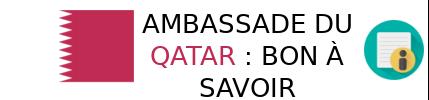 info ambassade qatar