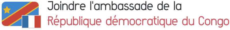ambassade republique democratique congo