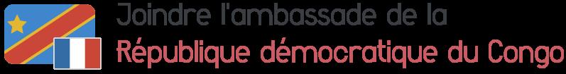 ambassade republique democratique congo