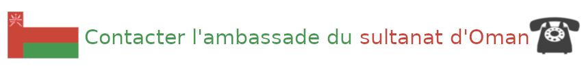 contact ambassade oman