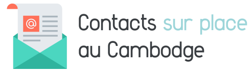 contact sur place cambodge