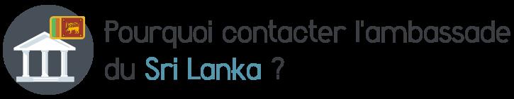 contacter ambassade sri lanka