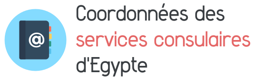 coordonnees services consulaires egypte