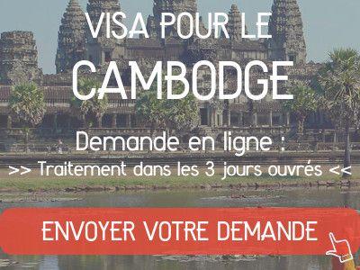 demande visa cambodge