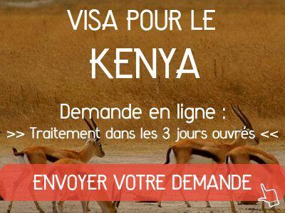demande visa kenya