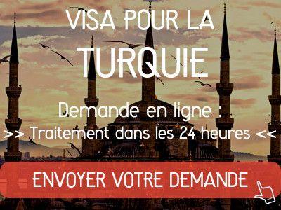demande visa turquie