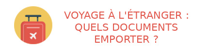 documents voyage étranger
