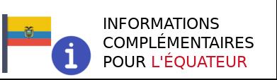 information équateur